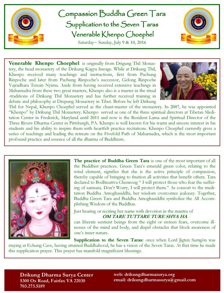 2016 DDSC Green Tara Flyer English-page-002