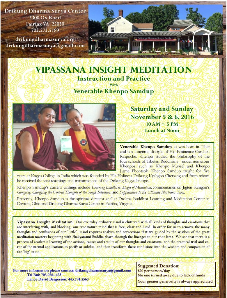 2016 Vipassana Insight Meditation Retreat-page-001