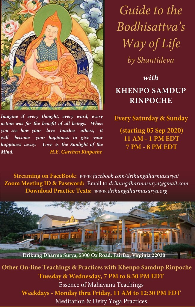 Guide to the Bodhisattva s Way of Life w Khenpo Samdup Rinpoche (DDSC Sep 2020)-page-001