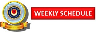 DDSC Weekly Schedule Logo