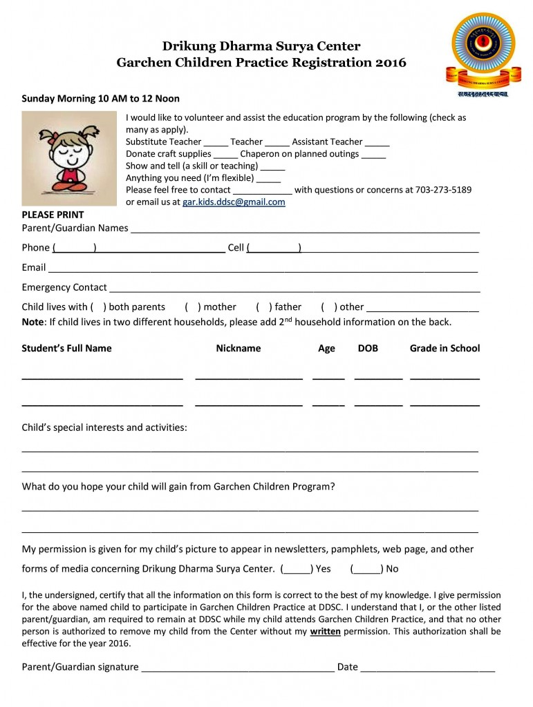 DDSC Registration Form for Garchen Children Practice Program-page-001