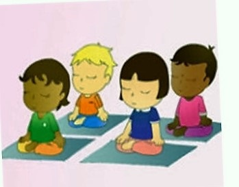 Kids in Meditattion 1